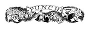 (Punch header showing characters from E H Shepard's most famous creations from Winnie the Pooh and Wind in the Willows preparing for the coronation)