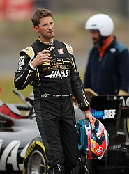 Haas Romain Grosjean during day three of pre-season testing at the Circuit de Barcelona-Catalunya.