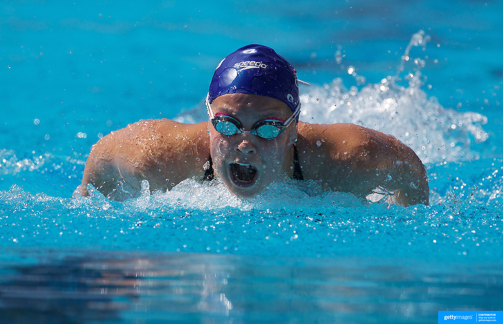 Ellen Gandy, Great Britain, in action on the Women's 200m Butterfly event at the World Swimming Championships in Rome on Wednesday, July 29, 2009. Photo Tim Clayton.