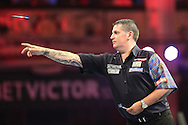 Gary Anderson during the First Round of the BetVictor World Matchplay Darts at the Empress Ballroom, Blackpool, United Kingdom on 19 July 2015. Photo by Shane Healey.