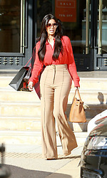 Kim Kardashian shopping at Barneys in Los Angeles, CA, USA, on January 13, 2012. Photo by Kokopix/ABACAPRESS.COM  | 304287_005 Los Angeles u Etats-Unis United States