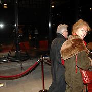 NLD/Hilversum/20061201 - Opening Nederlands Instituut voor Beeld en Geluid, Sonja Barend en partner Abel