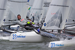 Day three Delta Lloyd Regatta  2015 (26/30 May 2015). Medemblik - the Netherlands.