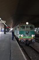 Krakow Railway Station in Krakow Poland