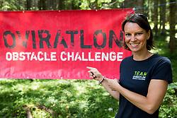Teja Gregorin at Oviratlon Obstacle Challenge Pokljuka 2018, on July 7, 2018 in Rudno polje, Pokljuka, Slovenia. Photo by Vid Ponikvar / Sportida