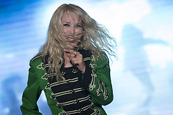 June 1, 2017 - Ospitaletto, Brescia, Italy - For the ''Notte Bianca a Ospitaletto'' event, Ivana Spagna performs her greatest successes. (Credit Image: © Pamela Rovaris/Pacific Press via ZUMA Wire)