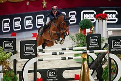 Schmid Maximilian, GER, Chacon<br /> MEVISTO Amadeus Horse Indoor Salzburg<br /> © Hippo Foto - Stefan Lafrentz<br /> 11-12-2016