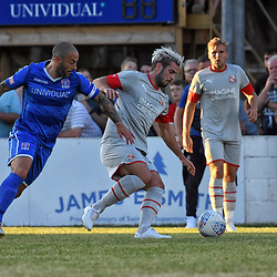 Dion Conroy Swindon Town With Stuart Fleetwood Swindon Supermarine 5/07/2020