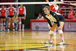 29 October 2011: Jenny Menendez During a match between the Creighton Bluejays and the Illinois State Redbirds at Redbird Arena in Normal Illinois
