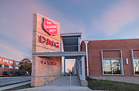 Exterior photo of the Salvation Army DMG Grocery Store in Baltimore Maryland by Jeffrey Sauers of Commercial Photographics, Architectural Photo Artistry in Washington DC, Virginia to Florida and PA to New England