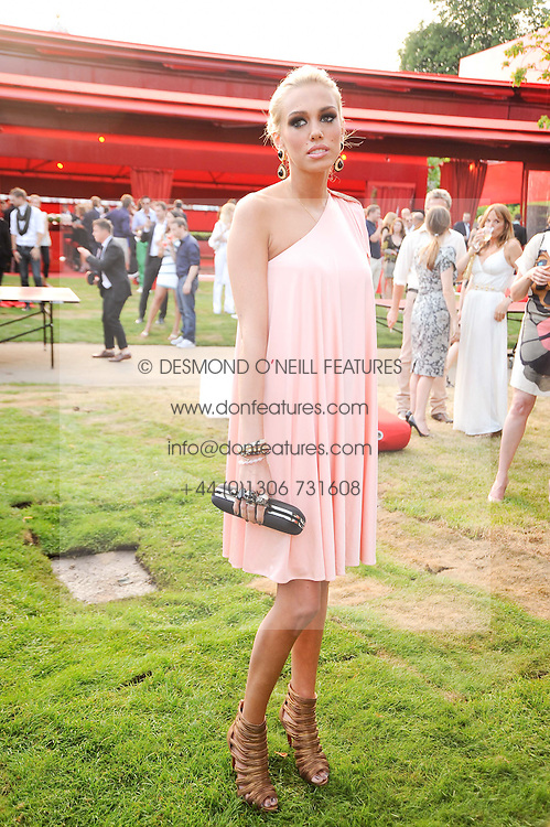 PETRA ECCLESTONE at the annual Serpentine Gallery Summer party this year sponsored by Jaguar held at the Serpentine Gallery, Kensington Gardens, London on 8th July 2010.  2010 marks the 40th anniversary of the Serpentine Gallery and the 10th Pavilion.