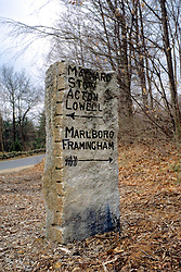 Stone Directs Sign