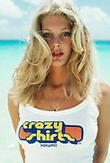 Woman in Crazy Shirts t shirt, Hawaii