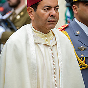 LUX/Luxemburg/20190504 -  Funeral<br /> of HRH Grand Duke Jean, Uitvaart Groothertog Jean, Prins Moulay Rachid van Marokko