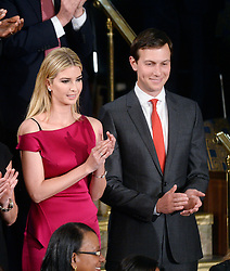 Jared Kushner and Ivanka Trump attend U.S. President Donald J. Trump first address to a Joint Session of Congress on Tuesday, February 28, 2017 at the Capitol in Washington, DC. Photo by Olivier Douliery/ Abaca