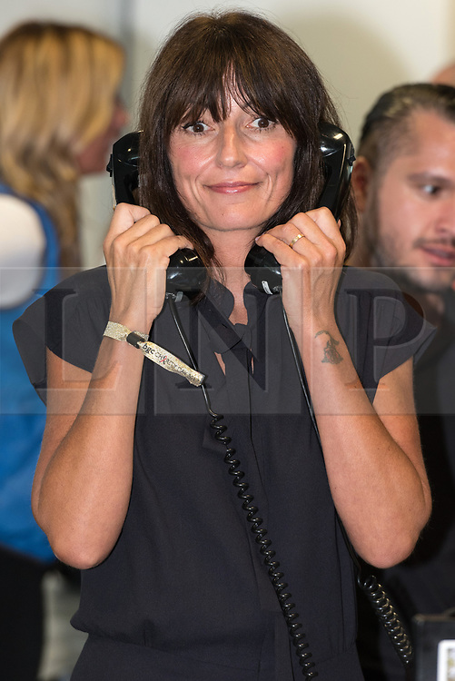 © Licensed to London News Pictures. 11/09/2017. DAVINA MCCALL takes part in the on the annual BGC Partners Charity Day in commemoration of its 658 friends and colleagues and 61 Eurobroker employees lost in the World Trade Center attacks on 9/11. PIcture Credit: Tang/LNP