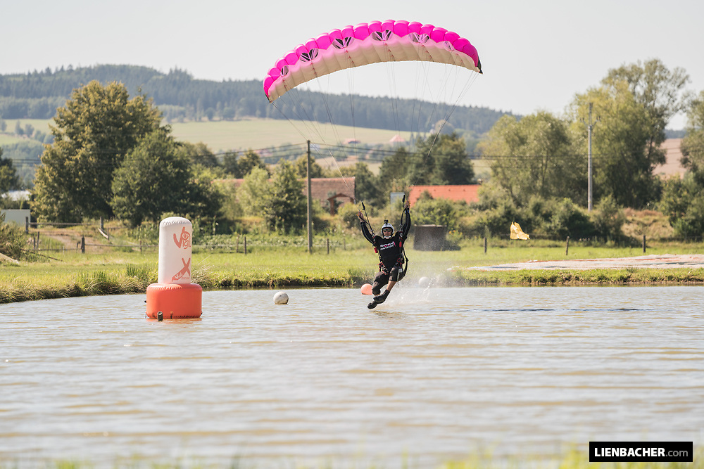 Pink Open Canopy Piloting Competition at Skydive Pink Klatovy with the Pink Skyvan