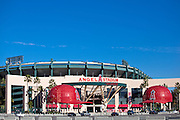 Angel Stadium Anaheim Stock Photo