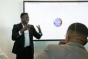 Ernest Darkoh, Founding Partner and Co-Chief Executive Officer, BroadReach Healthcare, South Africa speaking during the session Social Innovation at the World Forum World Economic Forum on Africa 2019. Copyright by World Economic Forum / Greg Beadle