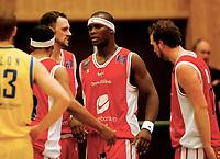 Basket , BLNO<br /> 1. Semifinale <br /> Vollenhallen 04.03.08<br /> Asker Aliens - Ulriken Eagles<br /> Ulrikens Peter Bullock