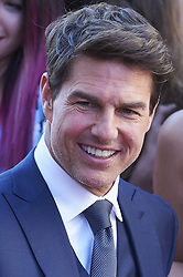 May 29, 2017 - Madrid, Madrid, Spain - Tom Cruise signs autographs during 'The Mummy' film premiere at Callao Cinema on May 29, 2017 in Madrid (Credit Image: © Jack Abuin via ZUMA Wire)