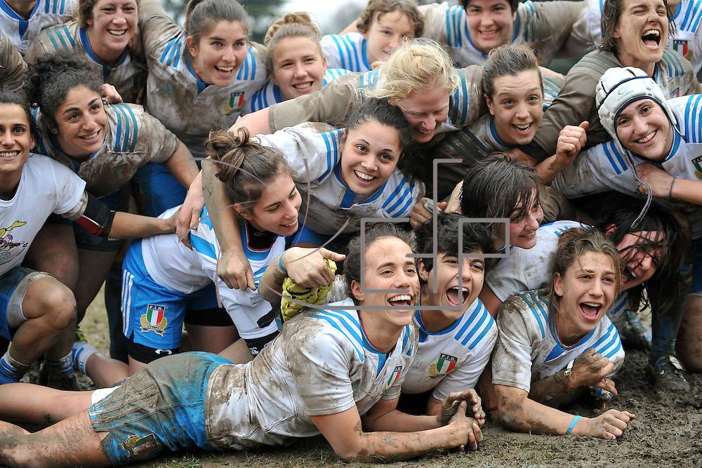 Bologna 28/02/2016 <br /> RBS 6 nations femminile : Italia vs Scozia