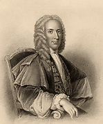Duncan Forbes of Culloden (1685-1747) Scottish politician who fought the Jacobite pretenders to the British throne and supported the Hanoverian succession. Engraving from 'A Biographical Dictionary of Eminent Scotsmen' by Thomas Thomson (1870).