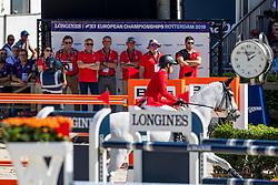 Fuchs Martin, SUI, Clooney 51<br /> European Championship Dressage<br /> Rotterdam 2019<br /> © Hippo Foto - Dirk Caremans
