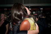 STELLA MCCARTNEY; NAOMI CAMPBELL, Dinner hosted by editor of British Vogue, Alexandra Shulman in association with Net-A-Porter.com in honour of 25 years of London Fashion Week and Nick Knight. Caprice. London.  September 21, 2009
