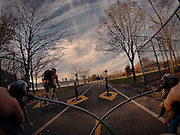 New York City from the seat of a bicycle: Photographer takes stunning photos of the Big Apple on his daily commute<br />