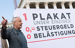 04 .09.2017, Parlament, Wien, AUT, Liste Pilz, Vorstellung der Wahlkampagne anlässlich der Nationalratswahl 2017, im Bild Peter Pilz // during media conference of the political movement Peter Pilz, former member of the green party, due to general elections 2017 in Vienna, Austria on 2017/09/04, EXPA Pictures © 2017, PhotoCredit: EXPA/ Michael Gruber