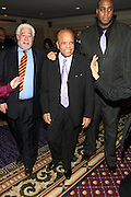 New York, NY-January 31: Music Executive Berry Gordy (C)attends the16th Annual Wall Street Project Gala Fundraiser Reception with special Tribute to Berry Gordy, Jr and Motown Recordings held at the Roosevelt Hotel on January 31, 2013. The Rainbow PUSH Coalition is a progressive organization protecting, defending and expanding civil rights to improve economics and educational opportunity. (Terrence Jennings))