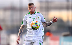 Republic of Ireland's James McClean during the UEFA Euro 2020 Qualifying, Group D match at the Victoria Stadium, Gibraltar.