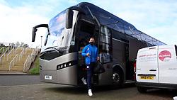 Joe Ward of Peterborough United arrives at Northampton Town - Mandatory by-line: Joe Dent/JMP - 10/10/2020 - FOOTBALL - PTS Academy Stadium - Northampton, England - Northampton Town v Peterborough United - Sky Bet League One