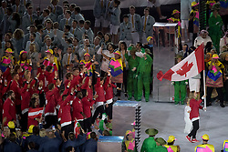 Canada, Opening ceremony<br /> Olympic Games Rio 2016<br /> © Hippo Foto - Dirk Caremans<br /> 05/08/16