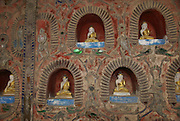 Myanmar, Shan State, Inle Lake, Shwe Yaunghwe Kyaung Monastery,