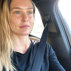 """Bar Refaeli releases a photo on Instagram with the following caption: """"Just had a facial done by @polablick \nCan you tell ?!\n\ud83c\udf31\ud83c\udf31\ud83c\udf31"""". Photo Credit: Instagram *** No USA Distribution *** For Editorial Use Only *** Not to be Published in Books or Photo Books ***  Please note: Fees charged by the agency are for the agency's services only, and do not, nor are they intended to, convey to the user any ownership of Copyright or License in the material. The agency does not claim any ownership including but not limited to Copyright or License in the attached material. By publishing this material you expressly agree to indemnify and to hold the agency and its directors, shareholders and employees harmless from any loss, claims, damages, demands, expenses (including legal fees), or any causes of action or allegation against the agency arising out of or connected in any way with publication of the material."""