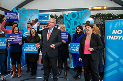 Pictured: Jackson Carlaw and Ruth Davidson rally the troops<br /><br />On the final day of electioneering for the UK election, Jackson Carlaw, Leader of the Scottish Conservatives and Ruth Davidson led an election rally in Edinburgh.<br />.<br />Ger Harley | EEm 11 December 2019