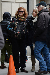 March 12, 2018 - New York, NY, USA - March 12, 2018 New York City..Susan Sarandon was seen on location of 'The Goldfinch' on March 12, 2018 in New York City. (Credit Image: © Kristin Callahan/Ace Pictures via ZUMA Press)
