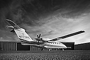 Piaggio P180 Avanti II, photographed on the ramp at Atlanta's Dekalb Peachtree Airport (PDK).  <br /> <br /> Created by aviation photographer John Slemp of Aerographs Aviation Photography. Clients include Goodyear Aviation Tires, Phillips 66 Aviation Fuels, Smithsonian Air & Space magazine, and The Lindbergh Foundation.  Specialising in high end commercial aviation photography and the supply of aviation stock photography for advertising, corporate, and editorial use.