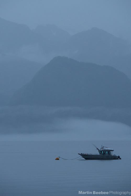 Fishing boat on Resurrection Bay, Seward, Alaska