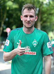 31.07.2014, Trainingsgelände am Weserstadion, Bremen, GER, 1. FBL, SV Werder Bremen Training,  im Bild Izet Hajrovic (SV Werder Bremen #14) // during the training session on the training ground of the German Bundesliga Club SV Werder Bremen at the Weserstadion, Bremen, Germany on 2014/07/31. EXPA Pictures © 2014, PhotoCredit: EXPA/ Andreas Gumz<br /> <br /> *****ATTENTION - OUT of GER*****
