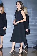 Queen Letizia of Spain attend Tribute Concert For Terrorism Victims at National Auditorium on March 7, 2019 in Madrid, Spain