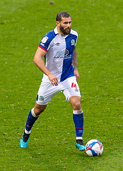 BLACKBURN, ENGLAND - Saturday, October 3, 2020: Blackburn Rovers' Bradley Johnson during the Football League Championship match between Blackburn Rovers FC and Cardiff City FC at Ewood Park. The game ended in a 0-0 draw. (Pic by David Rawcliffe/Propaganda)