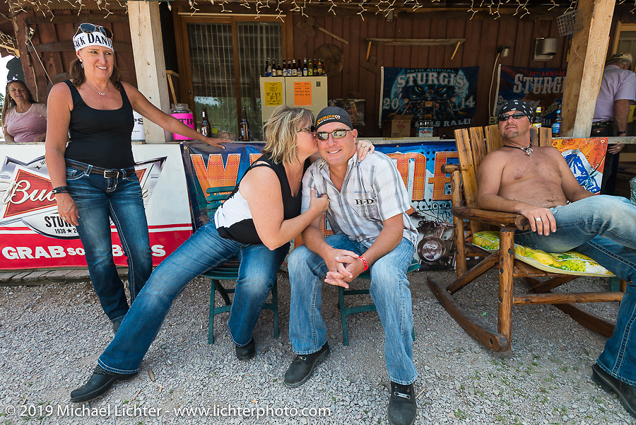 The Nemo Guest Ranch during the annual Sturgis Black Hills Motorcycle Rally. SD, USA. August 4, 2014.  Photography ©2014 Michael Lichter.