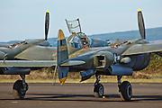 Lockheed P38 Lightning of the Tilamook Air Museum