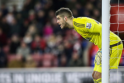 Fraser Forster of Southampton - Mandatory by-line: Jason Brown/JMP - 07966386802 - 16/01/2016 - FOOTBALL - Southampton, St Mary's Stadium - Southampton v West Bromwich Albion - Barclays Premier League