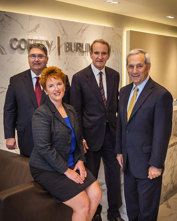 Group portrait, executive portrait, Senior Partners