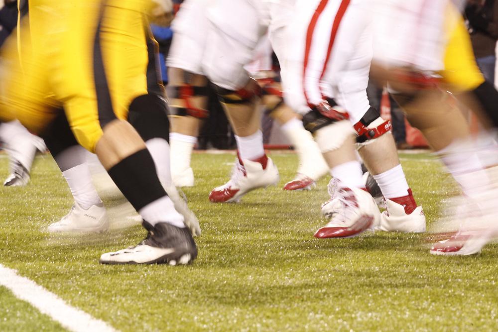 against Iowa at Memorial Stadium on Nov. 27, 2015. Photo by Aaron Babcock, Hail Varsity