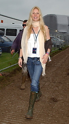 Actress Gwyneth Paltrow during the Glastonbury Festival to watch husband Chris Martin perform with his band Coldplay later this evening.